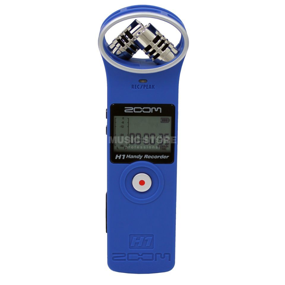 Zoom H1 Blue Mobile Recorder Produktbild