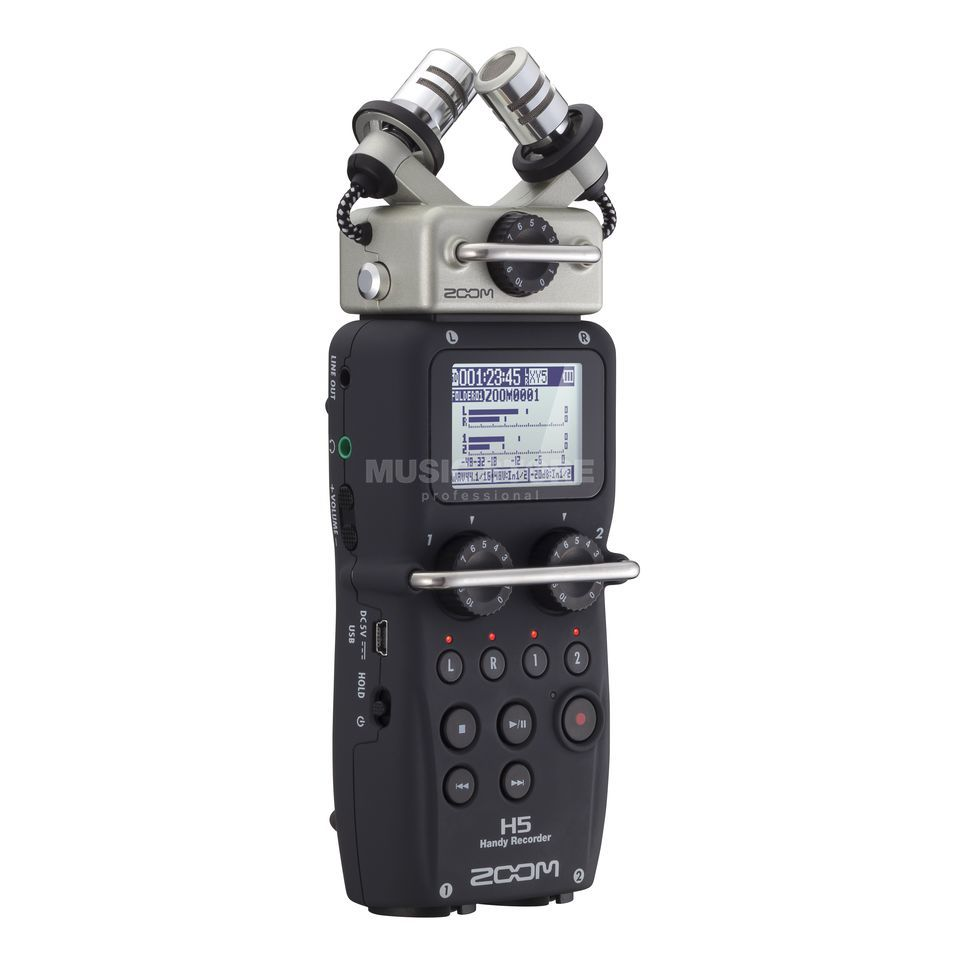 Zoom H5 Mobile Recorder with Wechselkapsel System Produktbillede
