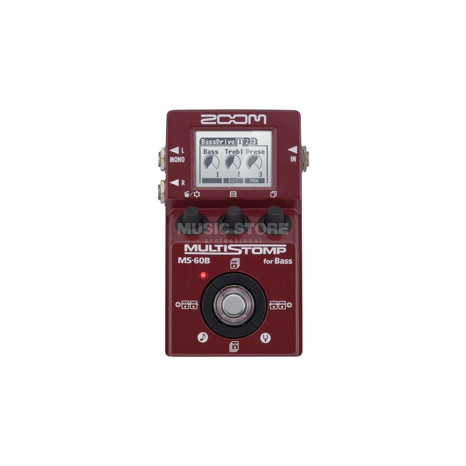 Zoom Multi Stomp MS-60B  Productafbeelding