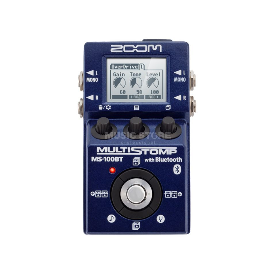 Zoom MultiStomp MS-100BT Produktbild