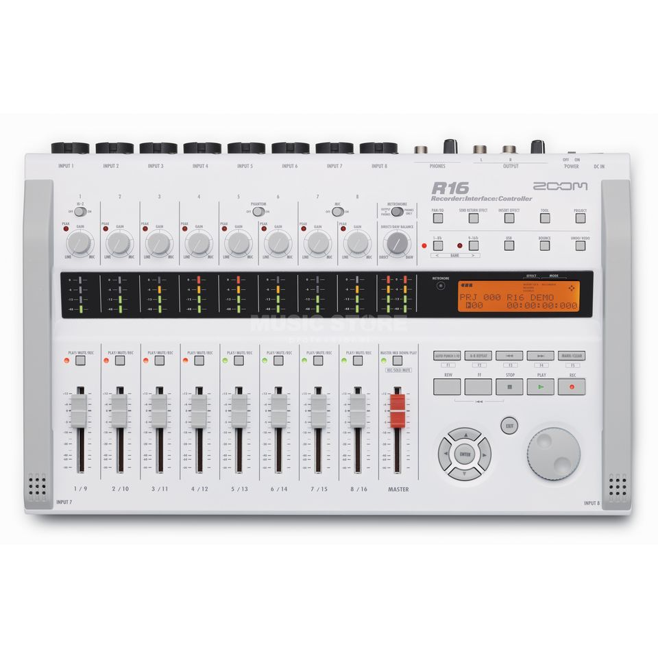 Zoom R16 Recorder + Interface,Controller,Sampler Produktbild