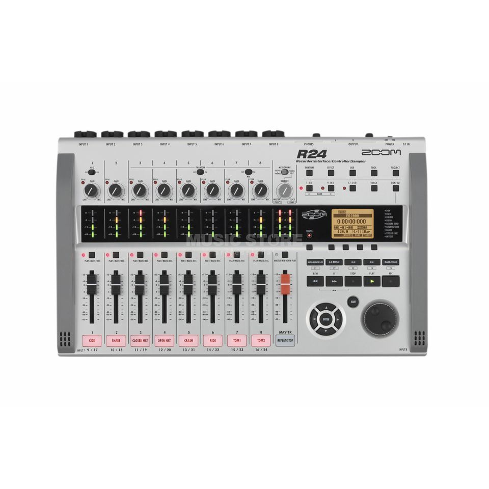 Zoom R24 Recorder + Interface,Controller,Sampler Produktbild
