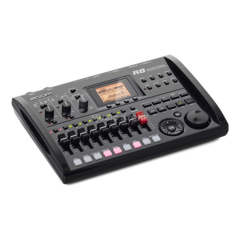 Zoom R8 Recorder + Interface,Controller,Sampler Produktbild
