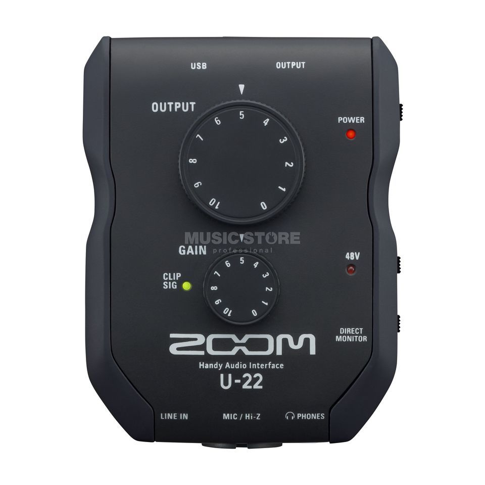 Zoom U-22 Handy Audiointerface Produktbillede