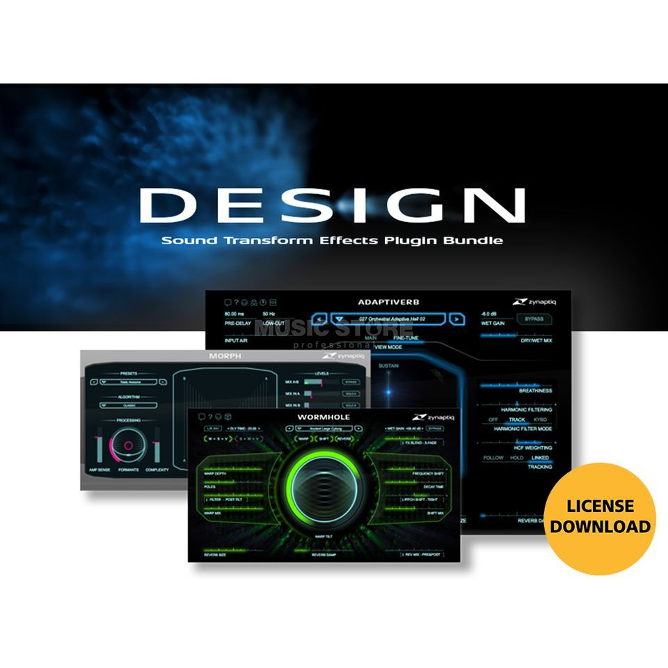 Zynaptiq Design Bundle License Code Image du produit