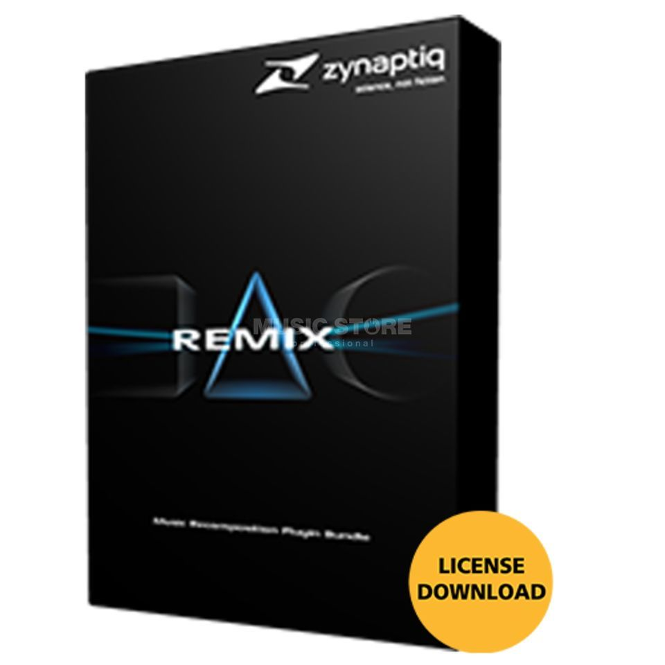 Zynaptiq Remix Bundle License Code Product Image