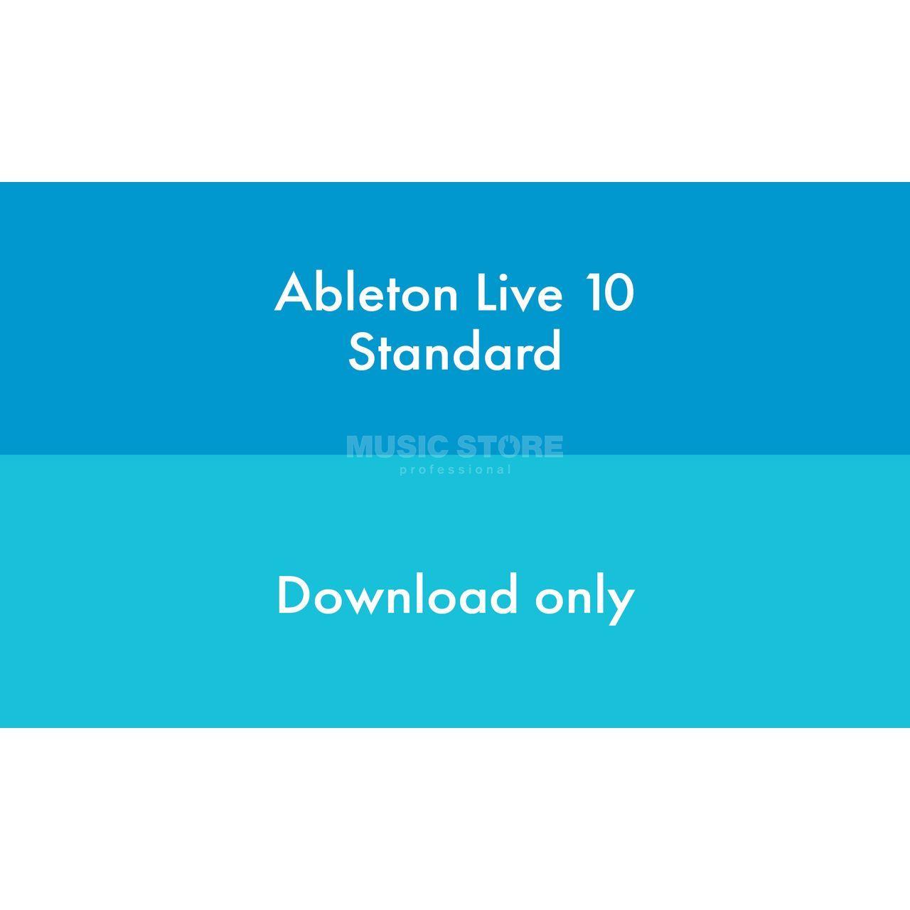 Ableton Live 10 Standard Edition EDU License Code   MUSIC STORE  professional   en-DE