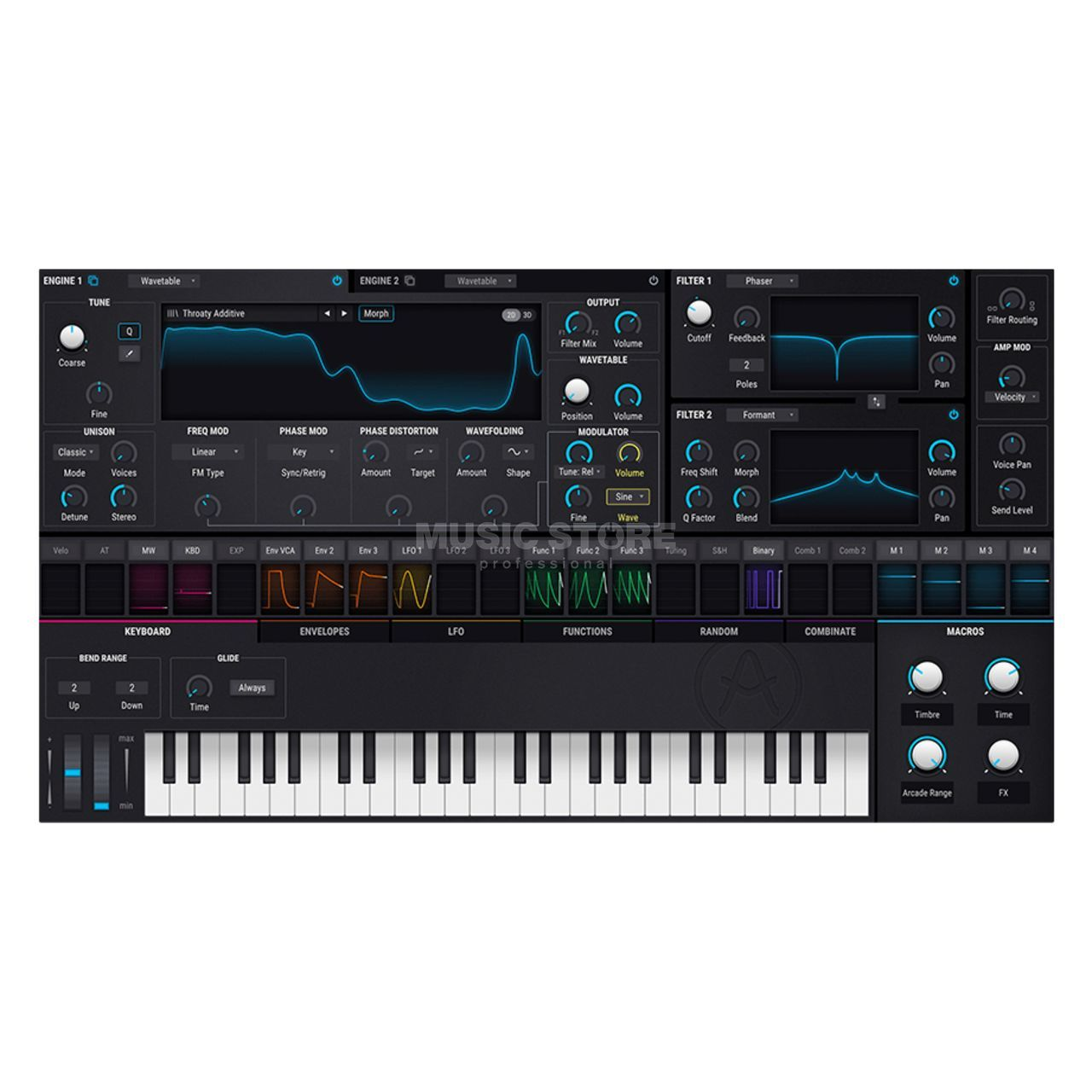 Arturia Pigments Synthesizer Plug-In   MUSIC STORE professional