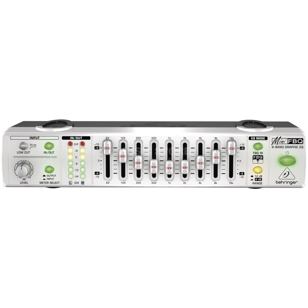 Behringer MINIFBQ FBQ800 Ultra-Compact Graphic Equalizer   MUSIC STORE  professional   en-DE