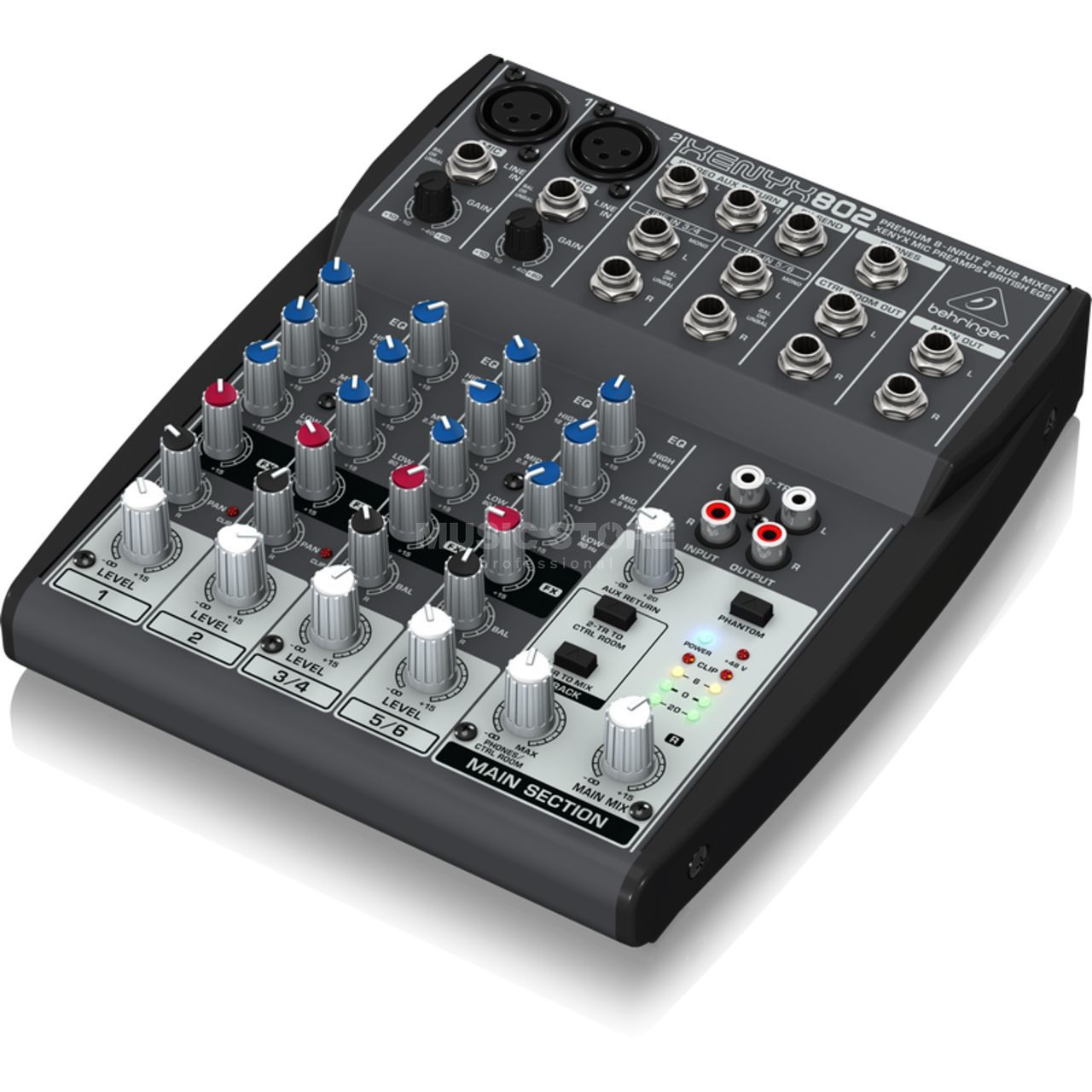 behringer xenyx 802 premium mixer. Black Bedroom Furniture Sets. Home Design Ideas