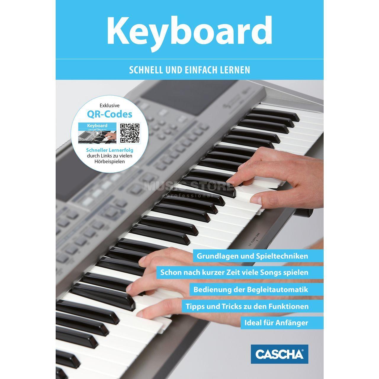 cascha verlag keyboard schnell und einfach lernen. Black Bedroom Furniture Sets. Home Design Ideas