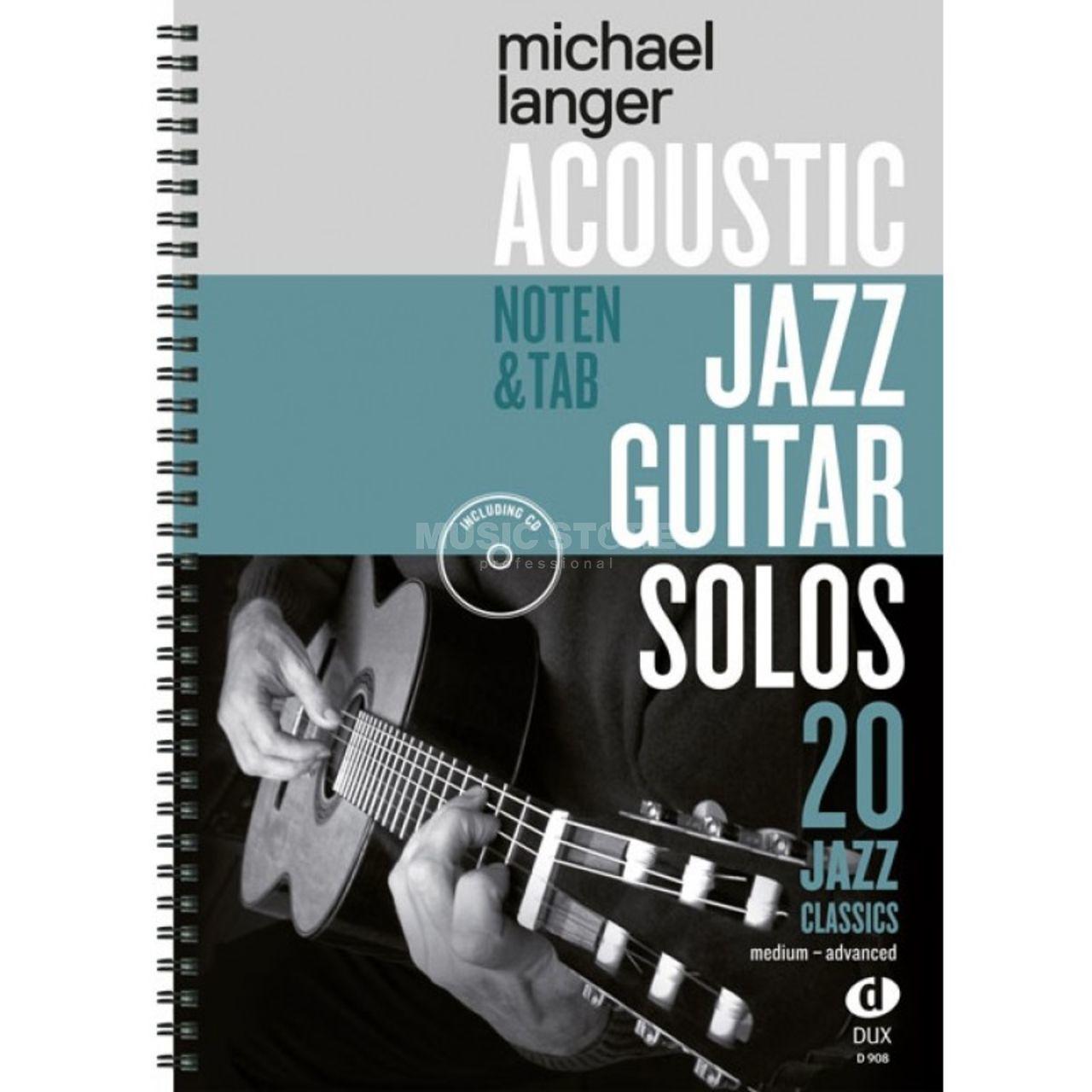 Acoustic Jazz Guitar Solos Dux Verlag Michael Langer