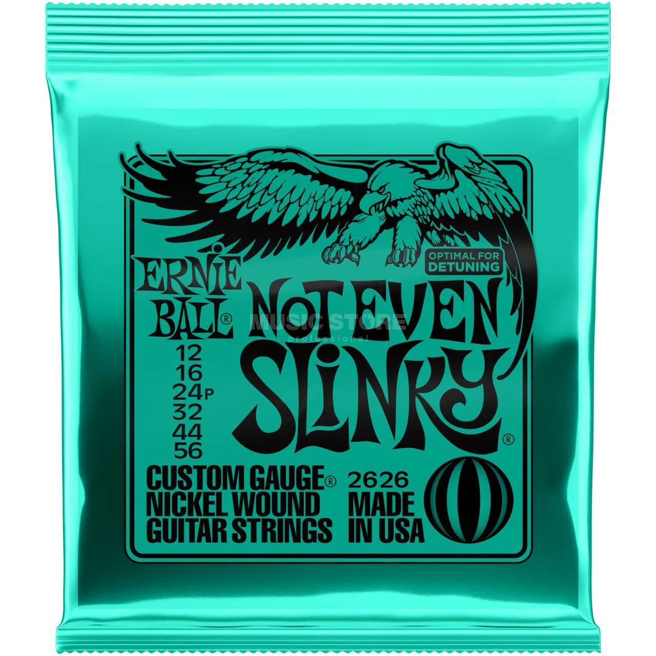 Nickel wound Струны для электрогитары ERNIE BALL 2626 (12-16-24p-32-44-56)