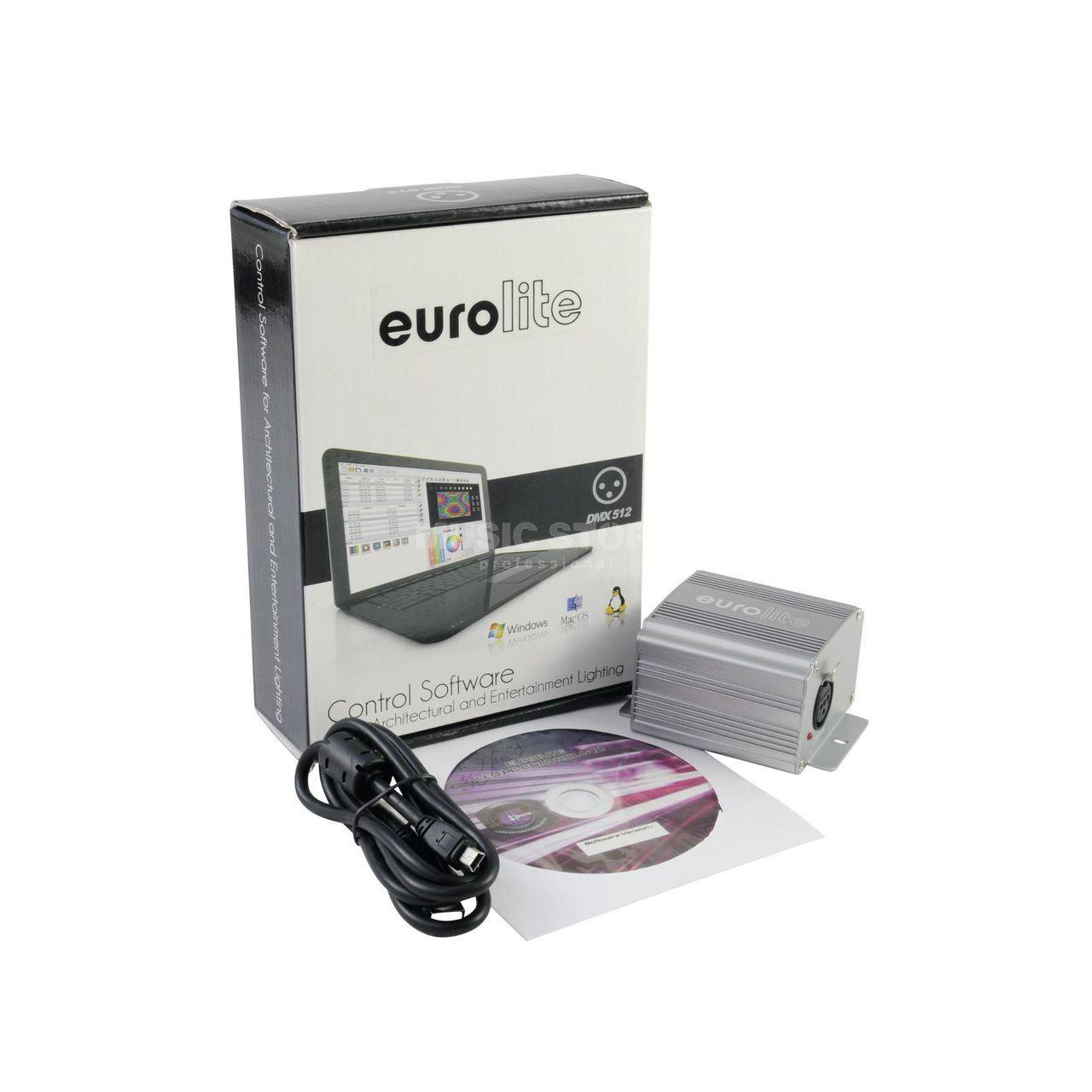 Eurolite LED PC-Control 512 DMX-Software/Interface 512 Ch  | MUSIC STORE  professional | en-DE