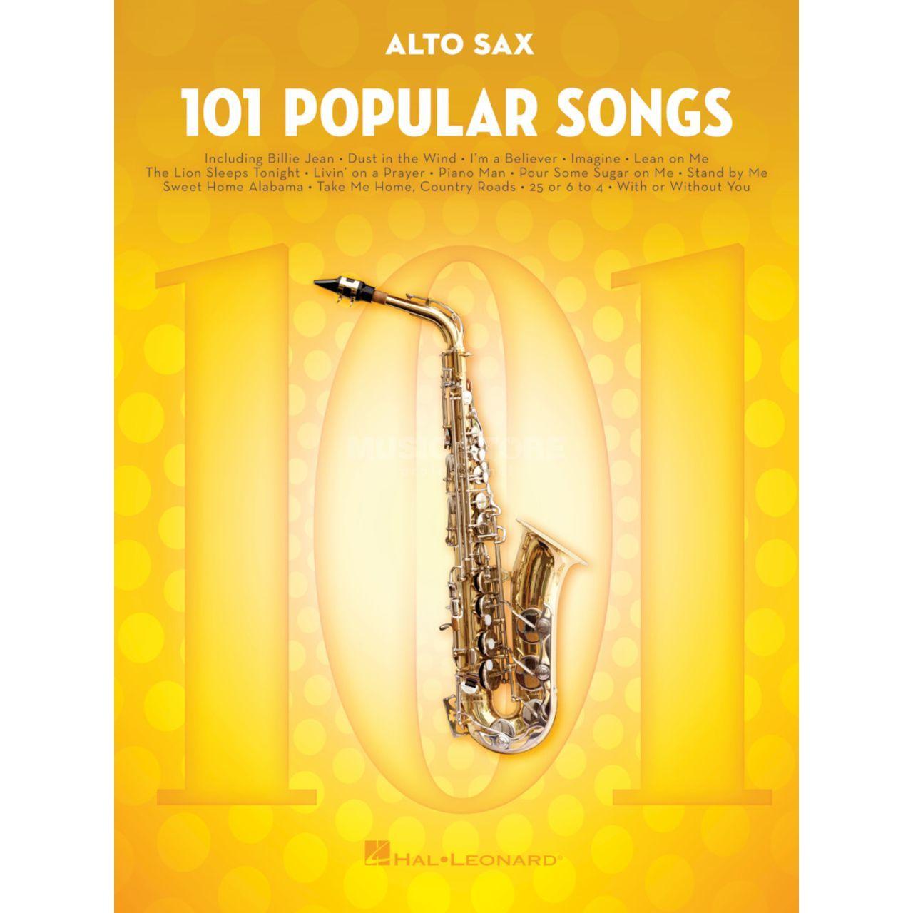 Hal Leonard 101 Popular Songs For Alto Saxophone