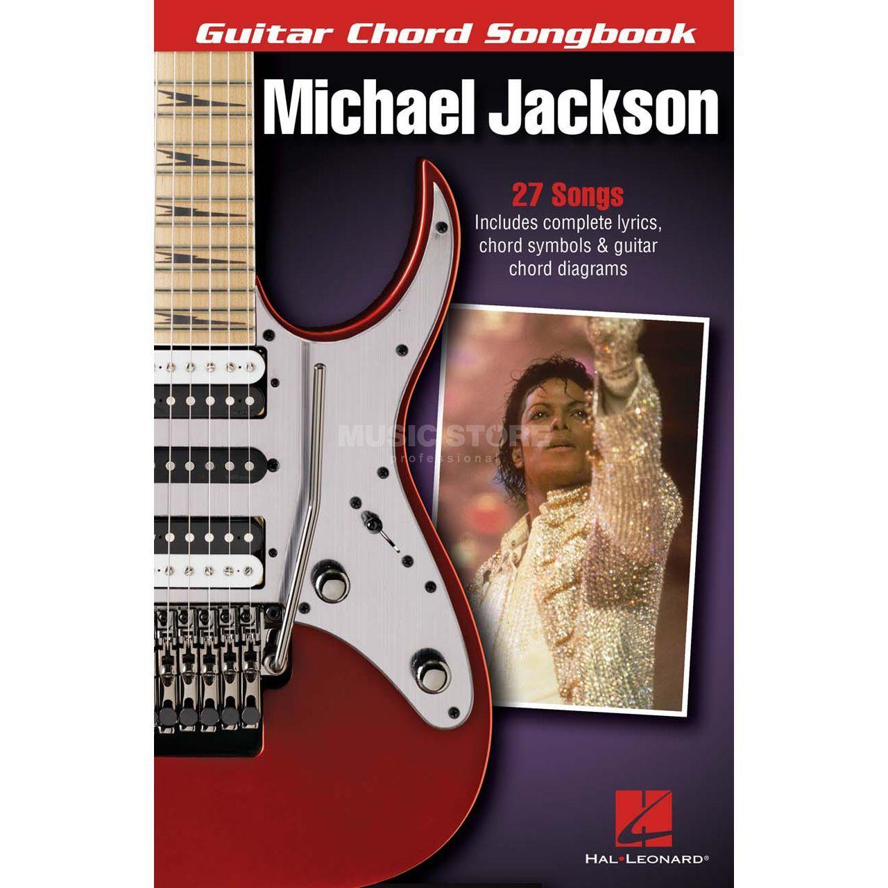 Hal Leonard Guitar Chord Songbook Michael Jackson
