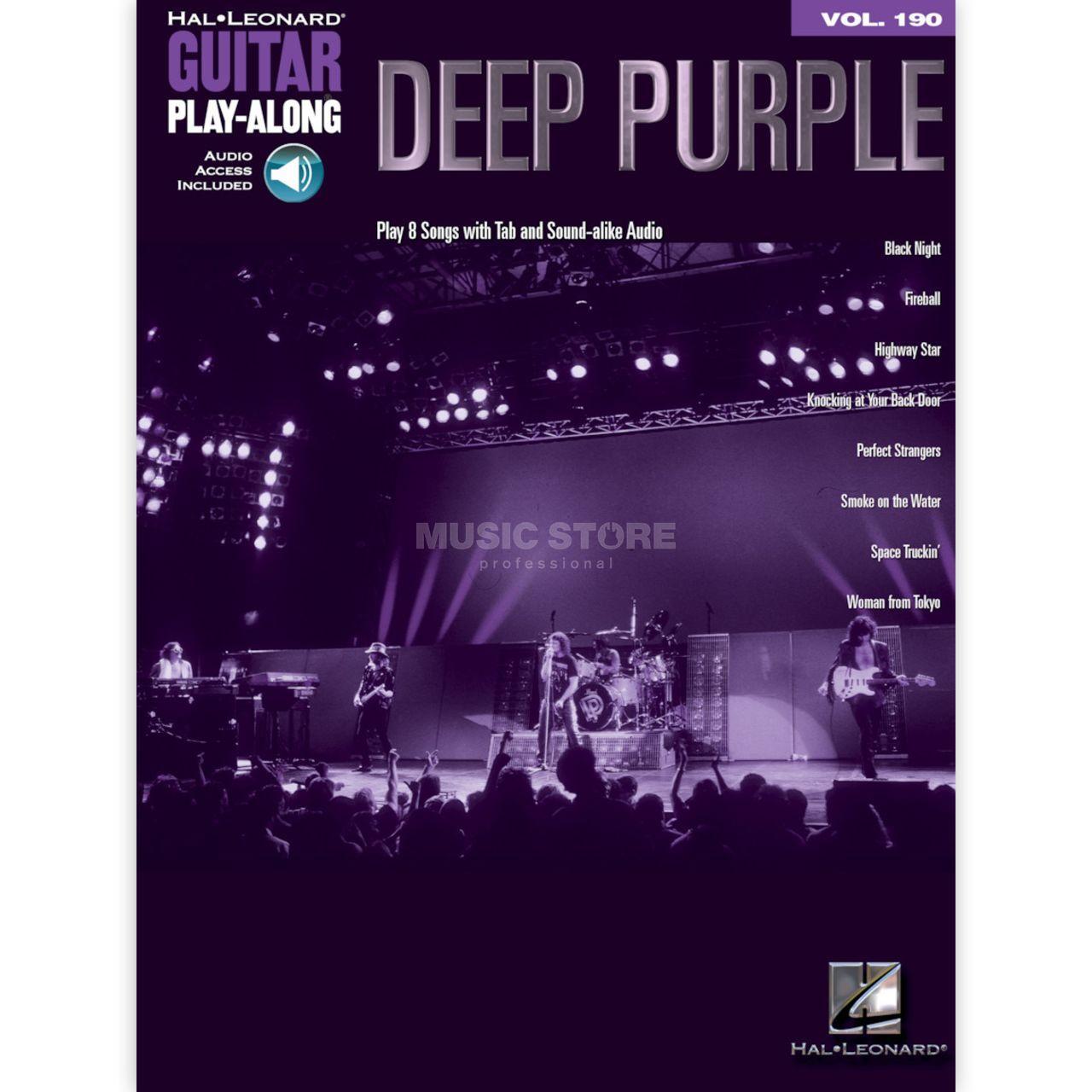 Hal Leonard Guitar Play Along Volume 20 Deep Purple