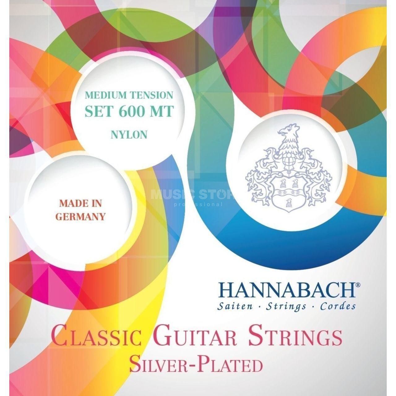 Hannabach K-Git Saiten Satz 600 MT Silver Plated   MUSIC
