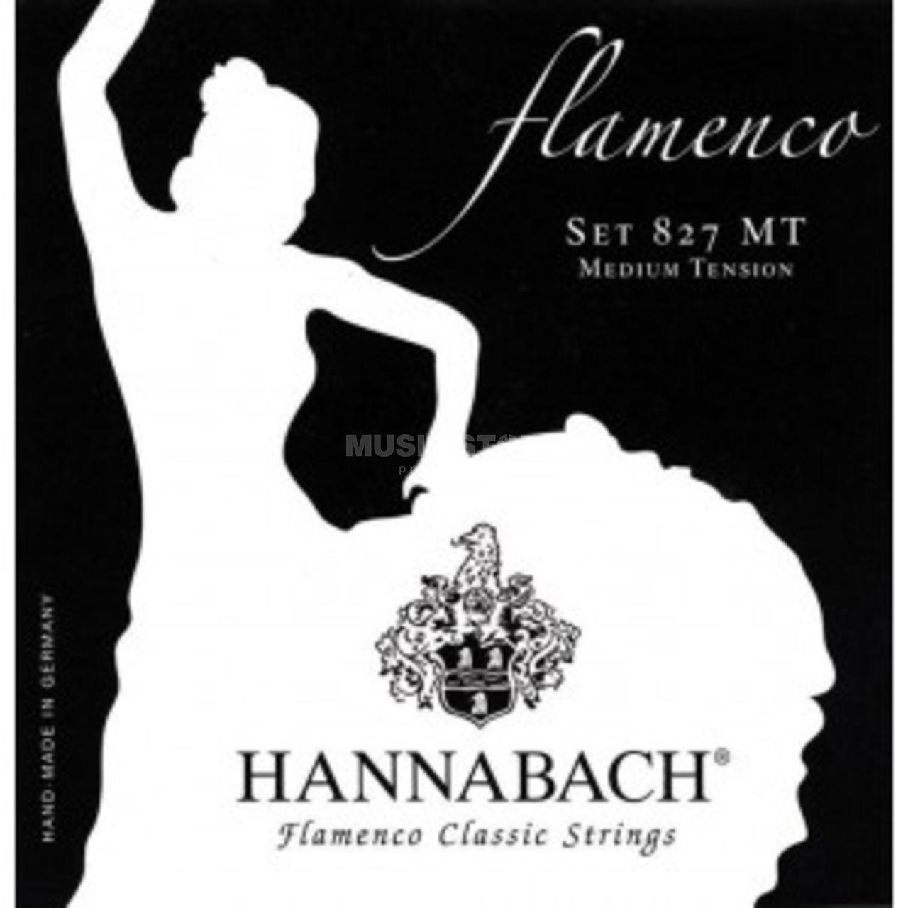 Hannabach K-Git Saiten Satz 827 MT Nylon Medium Flamenco