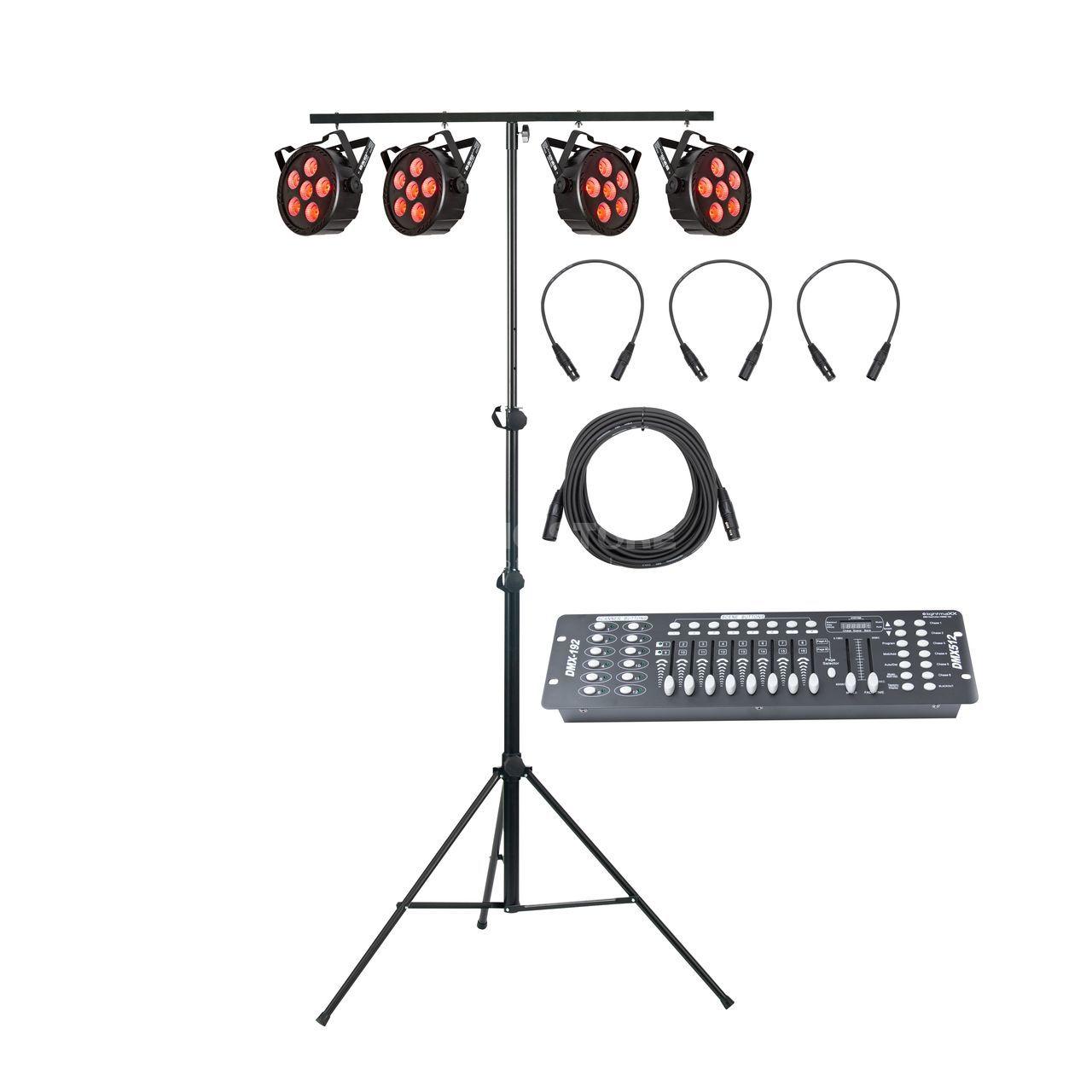 XLR 110 Ohm lightmaXX DMX Kabel 0,5m 3-pol
