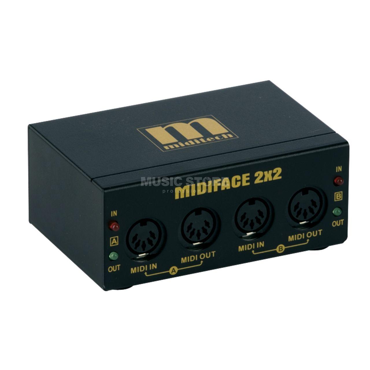 MIDIFACE 2x2 Carte son USB MIDI