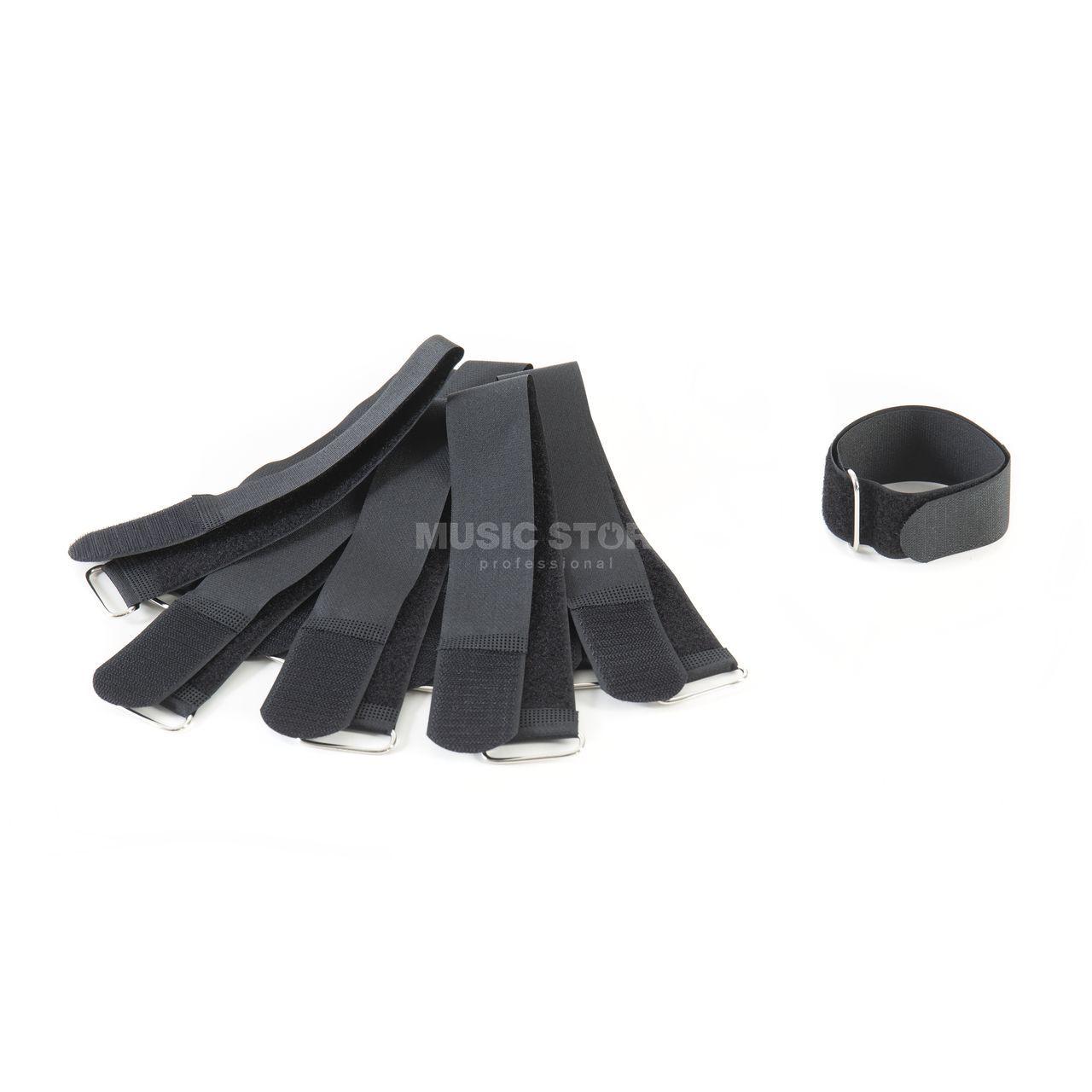 music store kabelklett schwarz 40cm 10er set. Black Bedroom Furniture Sets. Home Design Ideas