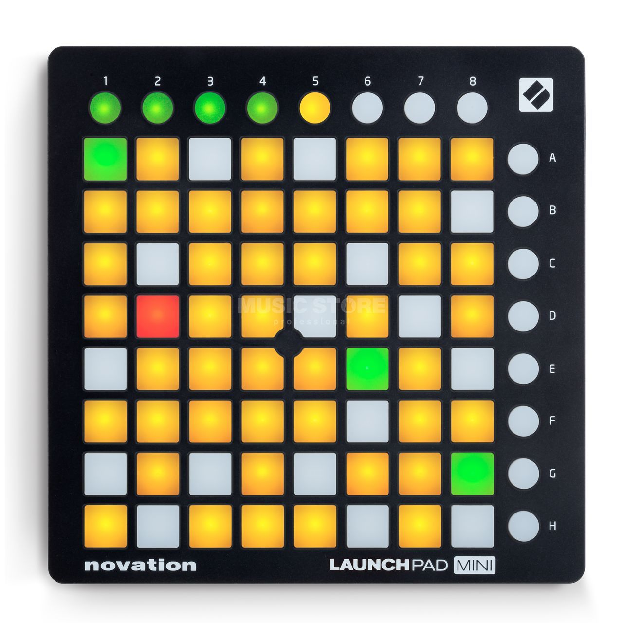 novation launchpad mini mk2 dv247 en gb. Black Bedroom Furniture Sets. Home Design Ideas