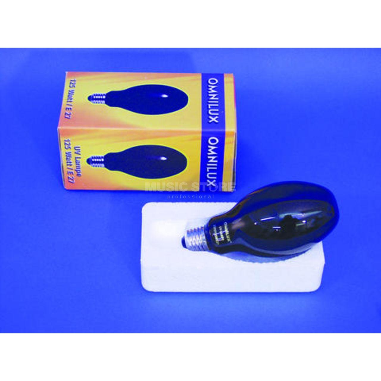 OMNILUX uv lampe 160w e-27 Noir Lumière pour de