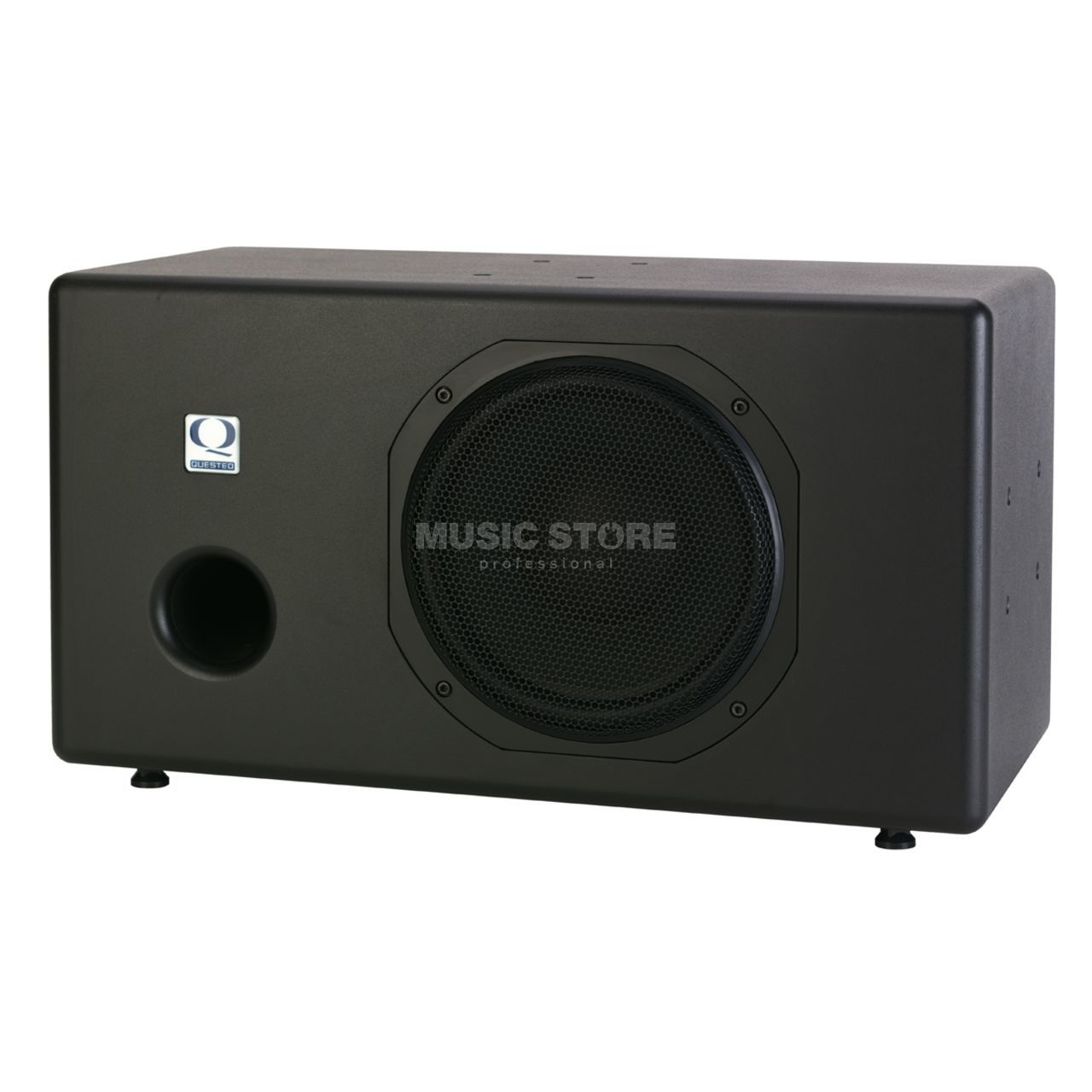 quested sb10r active sub woofer   1u stereo powered controller Subwoofer Doggo Biggest Subwoofer in the World