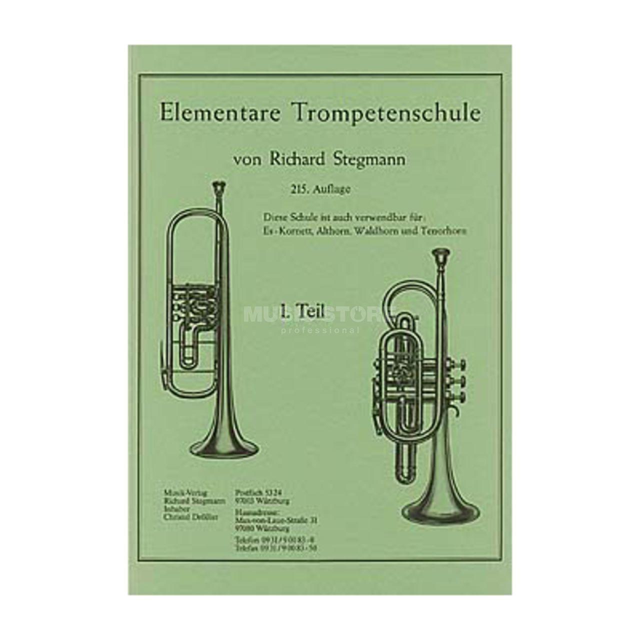 Elementare Trompetenschule 1 Richard Stegmann