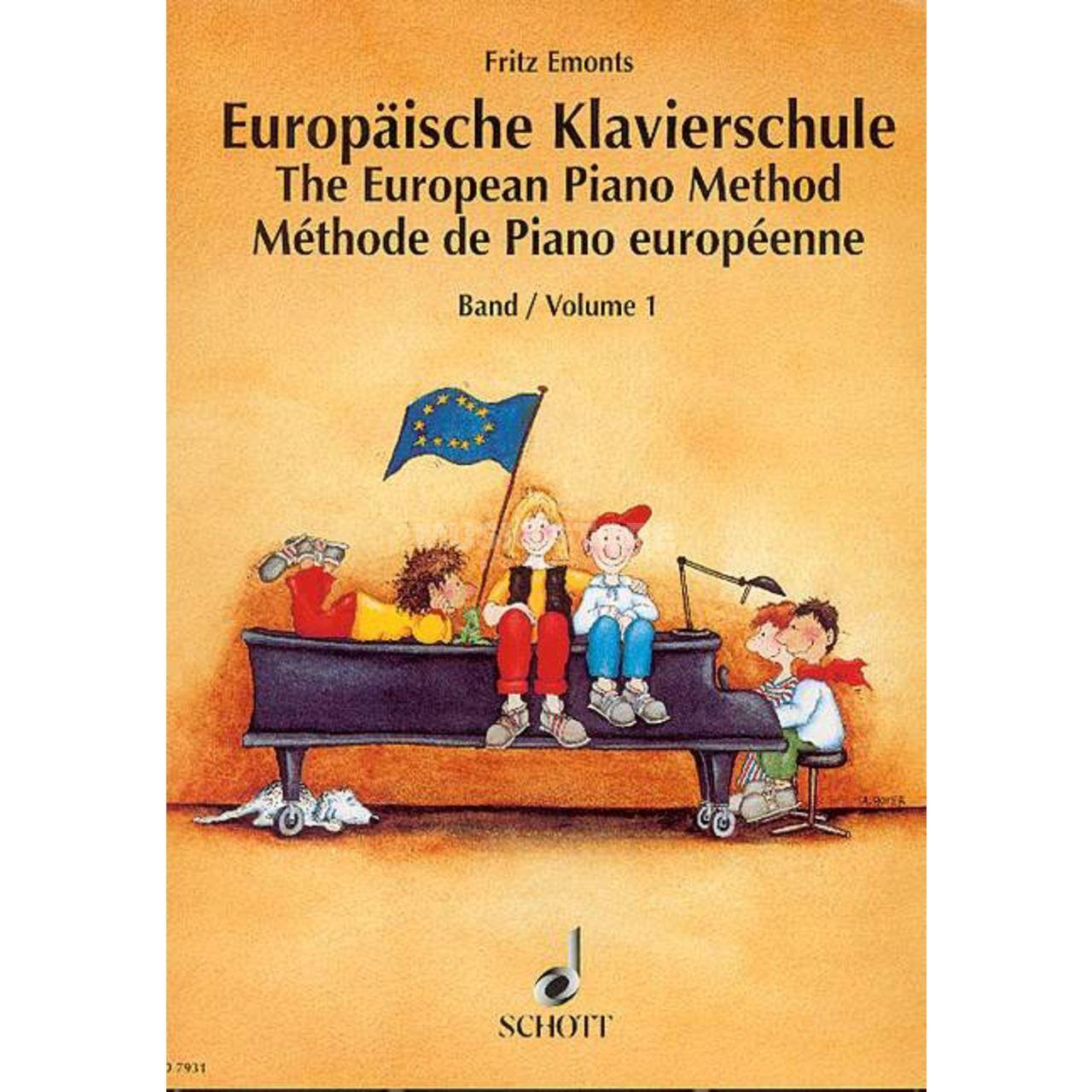 Schott Music Europäische Klavierschule 1 Fritz Emonts Music Store Professional Pt Ot