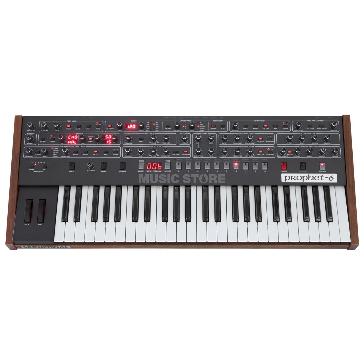 Sequential Prophet-6 Analog Synthesizer | MUSIC STORE professional | en-DE