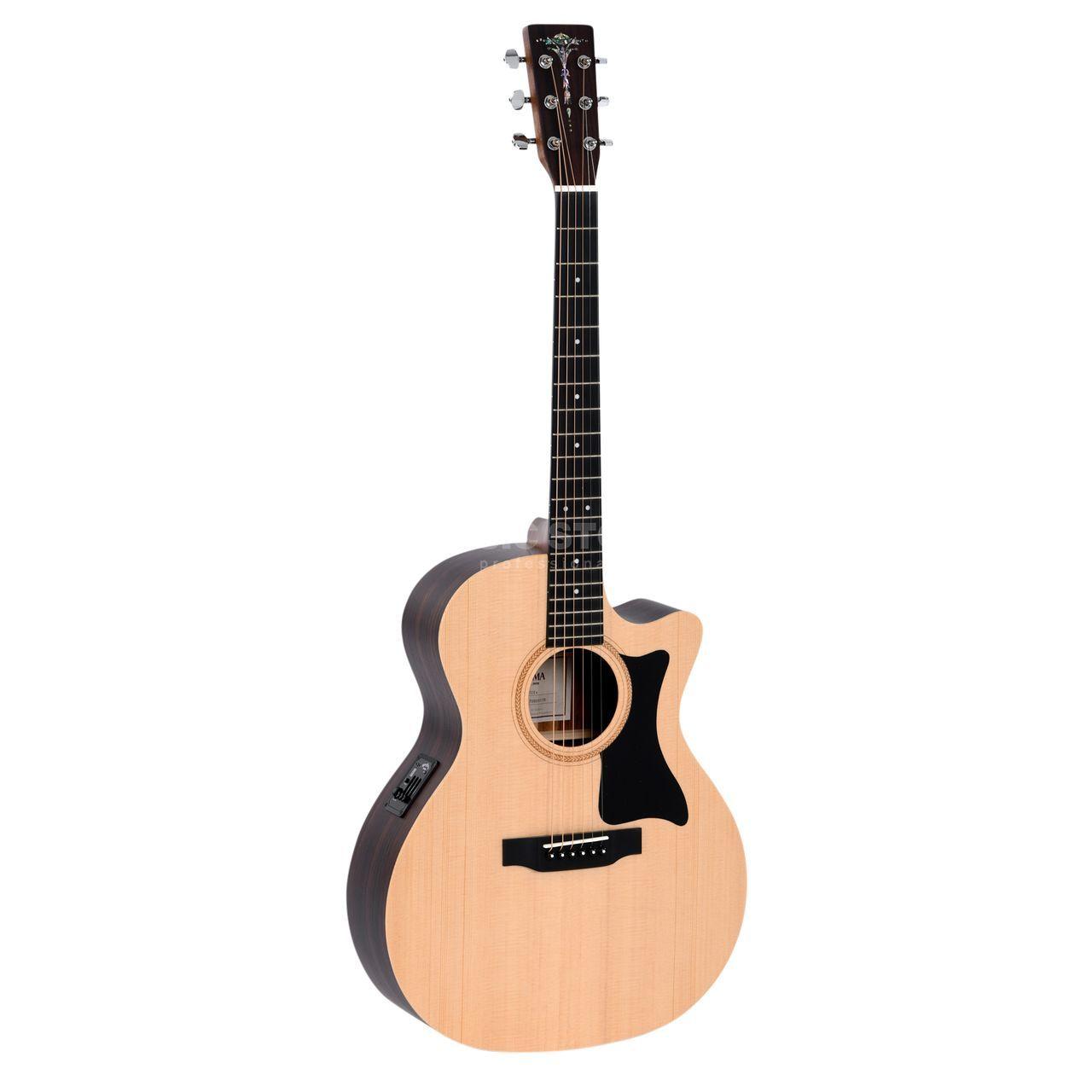 Sigma Guitars GTCE+ Natural - CITES free  | MUSIC STORE professional | ru-RU