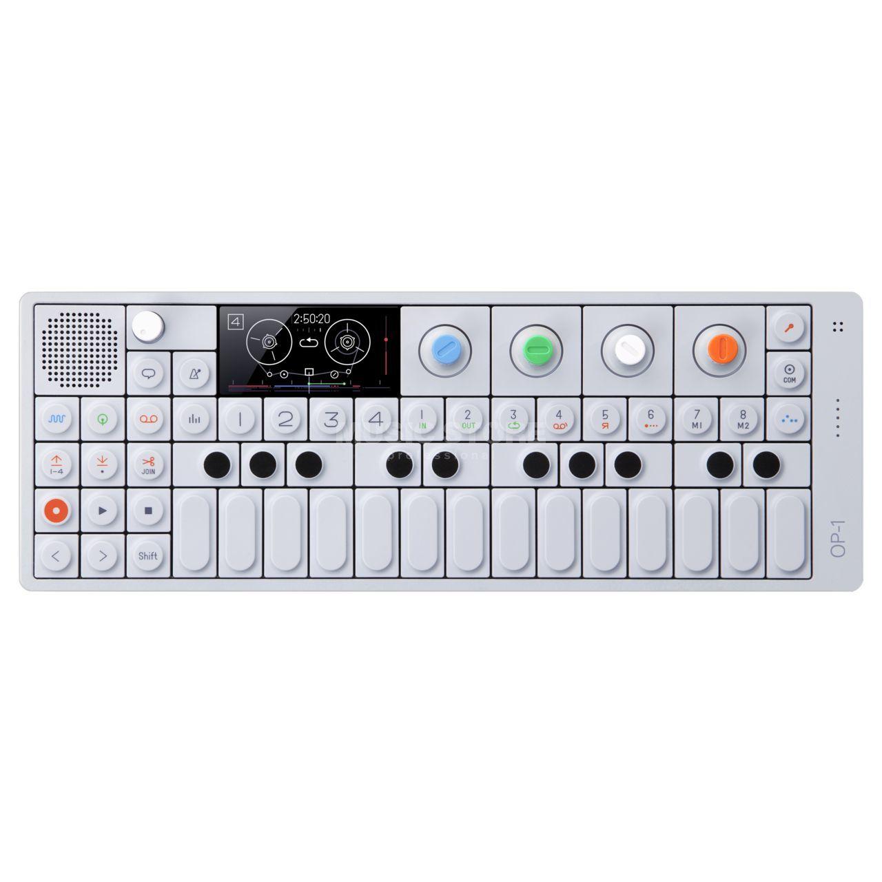 teenage engineering op 1 portable synthesizer sampler
