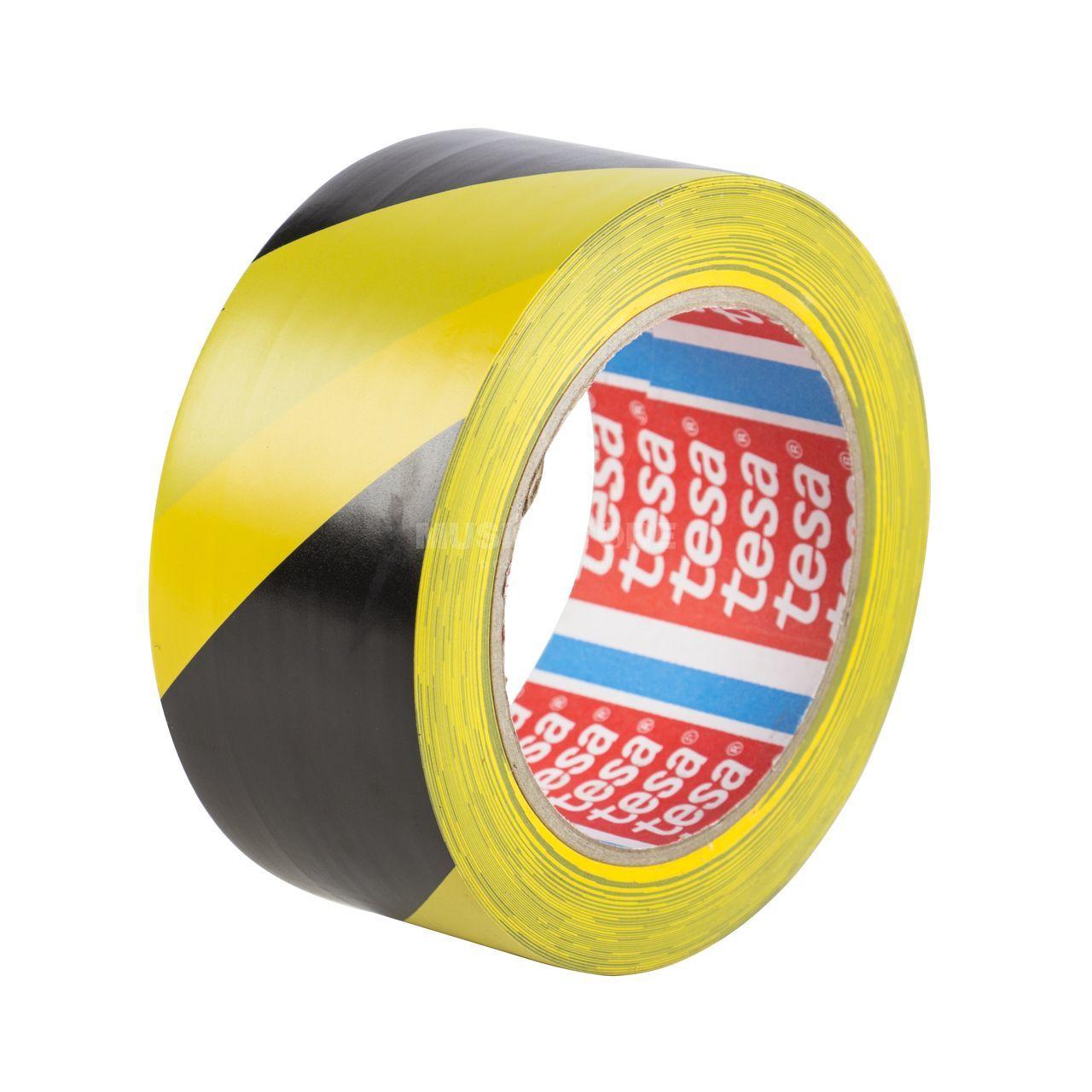 tesa markierungs tape schwarz gelb gaffa tape 33 m 50mm 60760. Black Bedroom Furniture Sets. Home Design Ideas