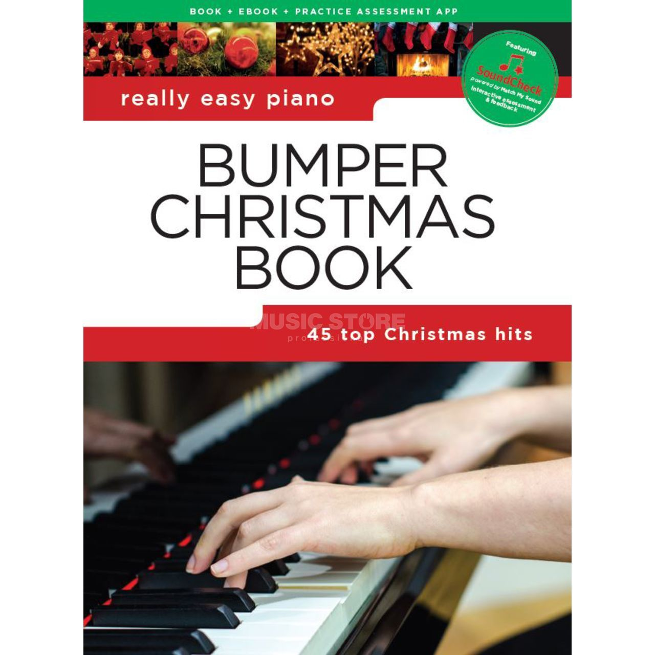 Really Easy Keyboard Bumper Christmas Book Sheet Music Xmas Holidays