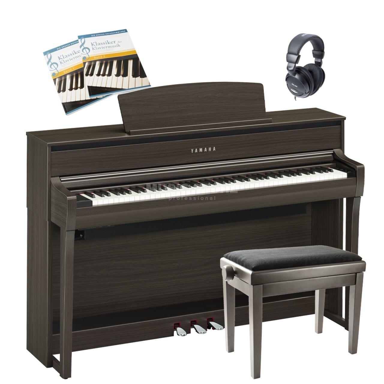 yamaha clp 685 pe complete set music store professional. Black Bedroom Furniture Sets. Home Design Ideas