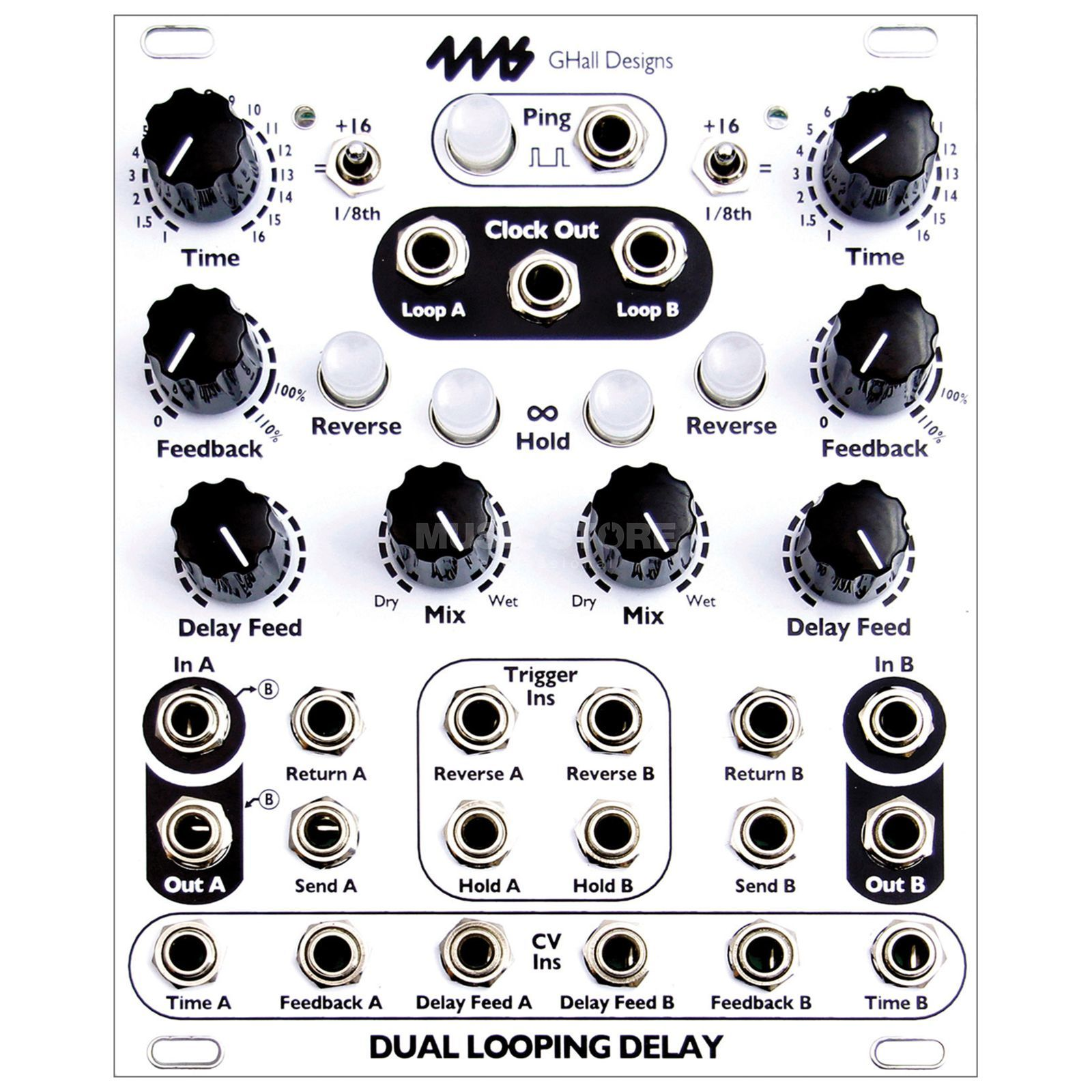 4ms Dual Looping Delay Product Image