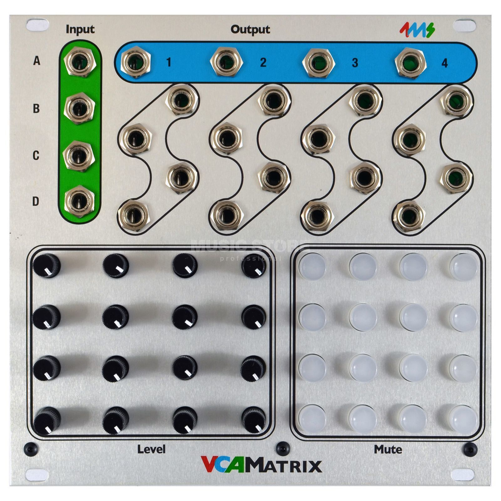 4ms VCA Matrix Produktbillede