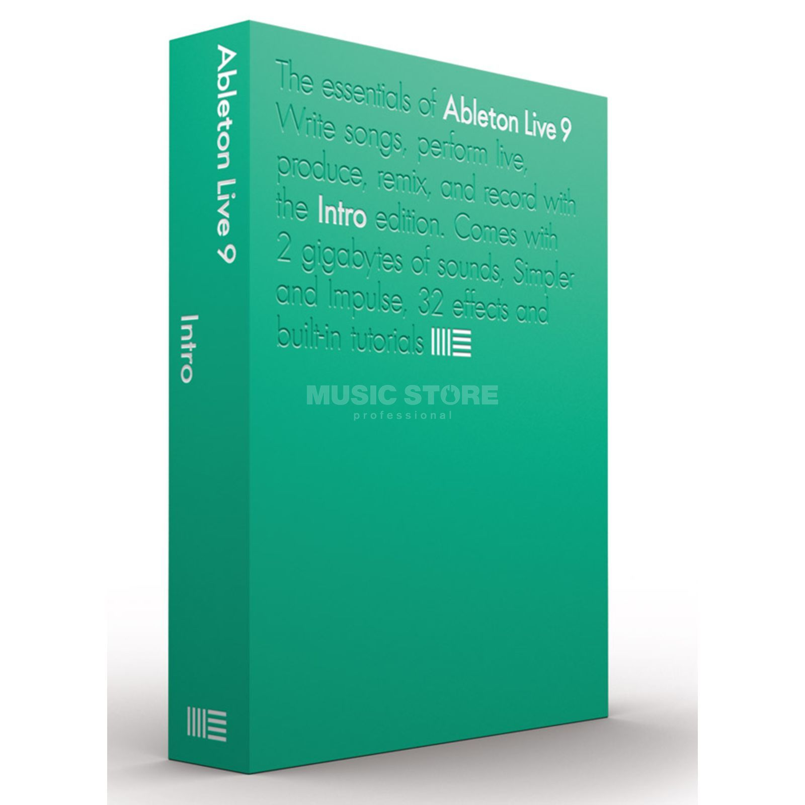 Ableton LIVE 9 Intro Deutsch Produktbild