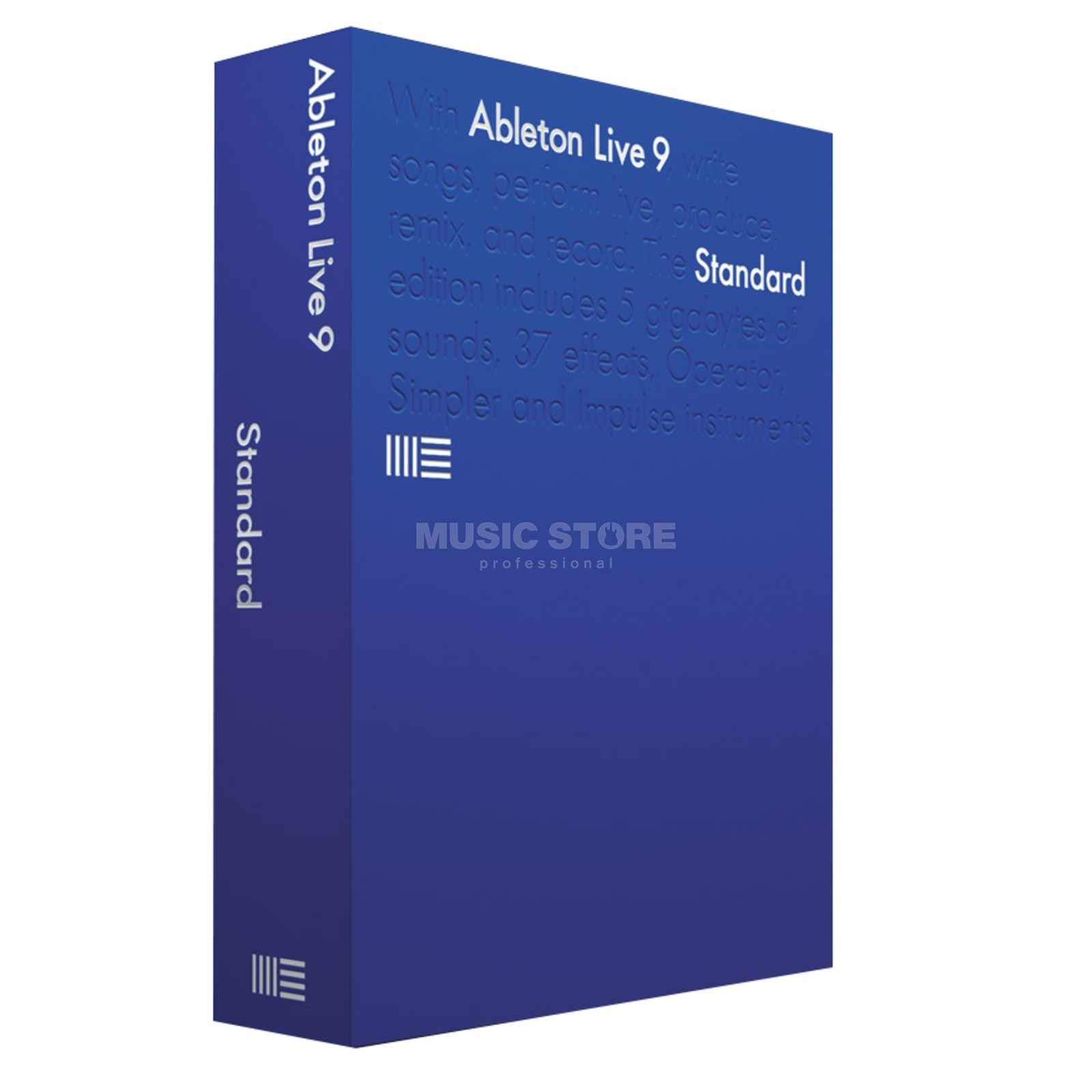 Ableton LIVE 9 Standard deutsch Boxed Version Produktbild