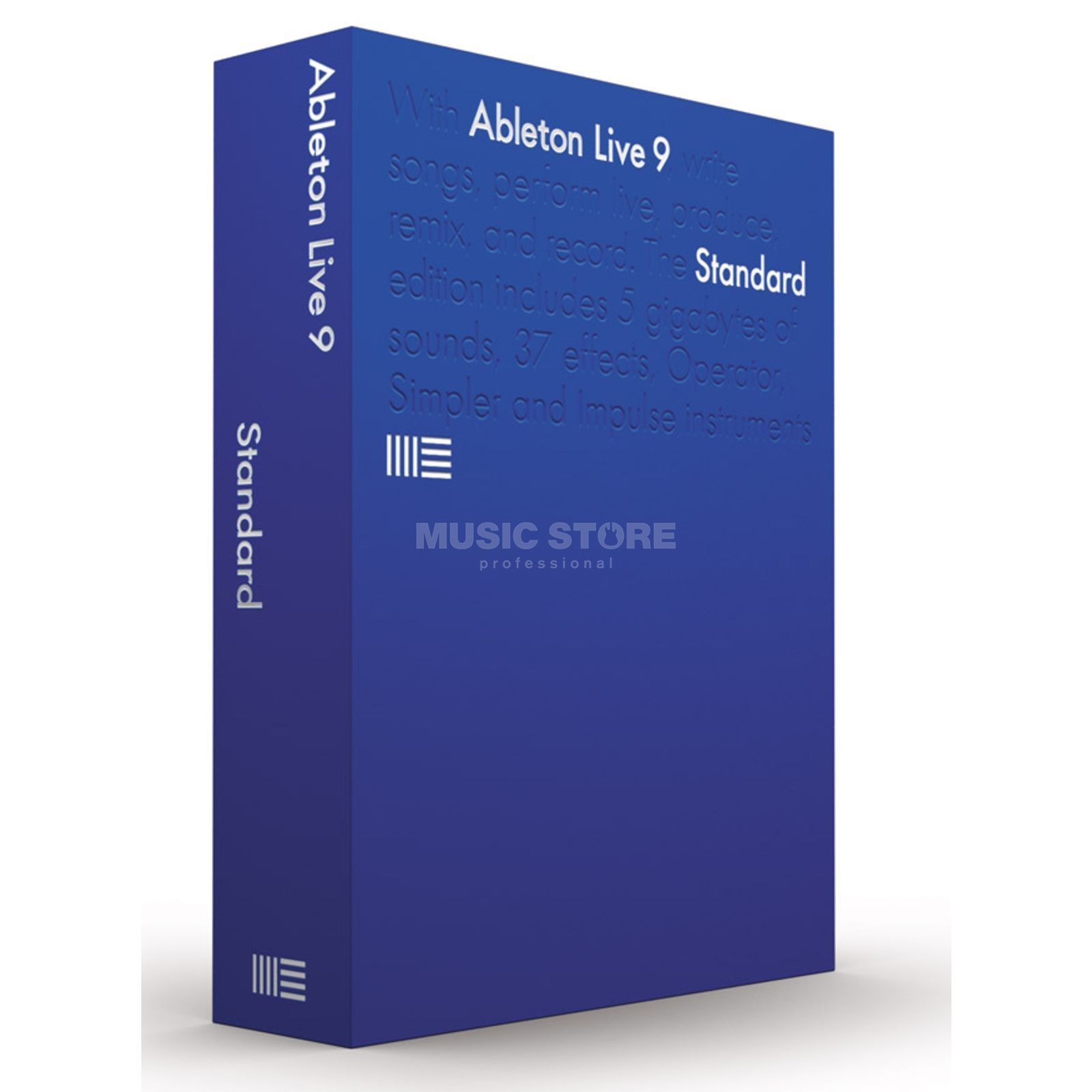 Ableton LIVE 9 Standard (LiveIntro UP) Boxed Version Produktbild