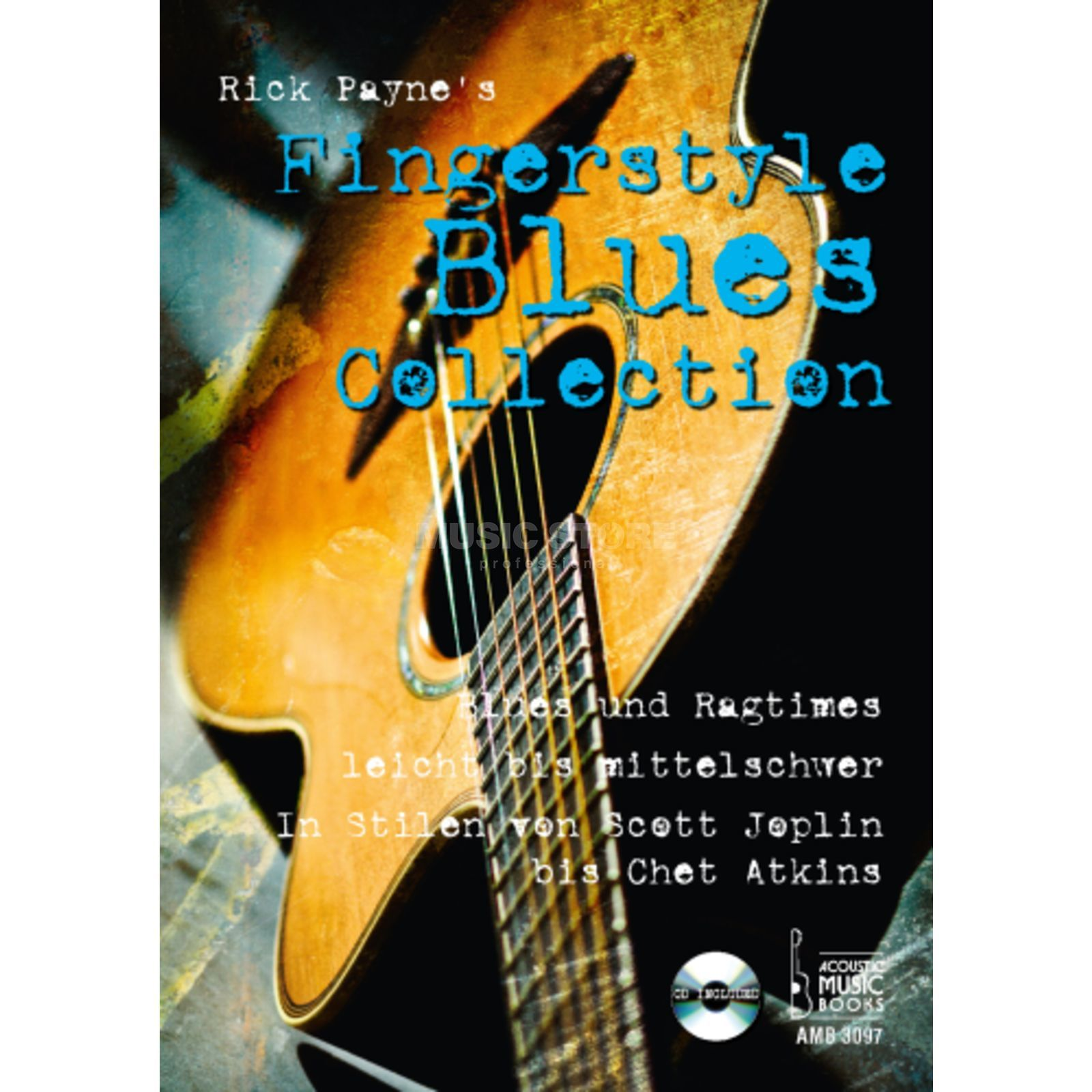 Acoustic Music Books Fingerstyle Blues Collection Rick Payne, Gitarre, mit CD Produktbild