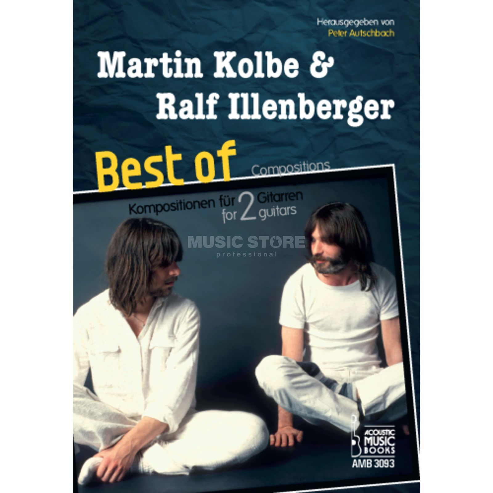 Acoustic Music Books Kolbe/Illenbeger: Best of Kompositionen für 2 Gitarren Produktbillede