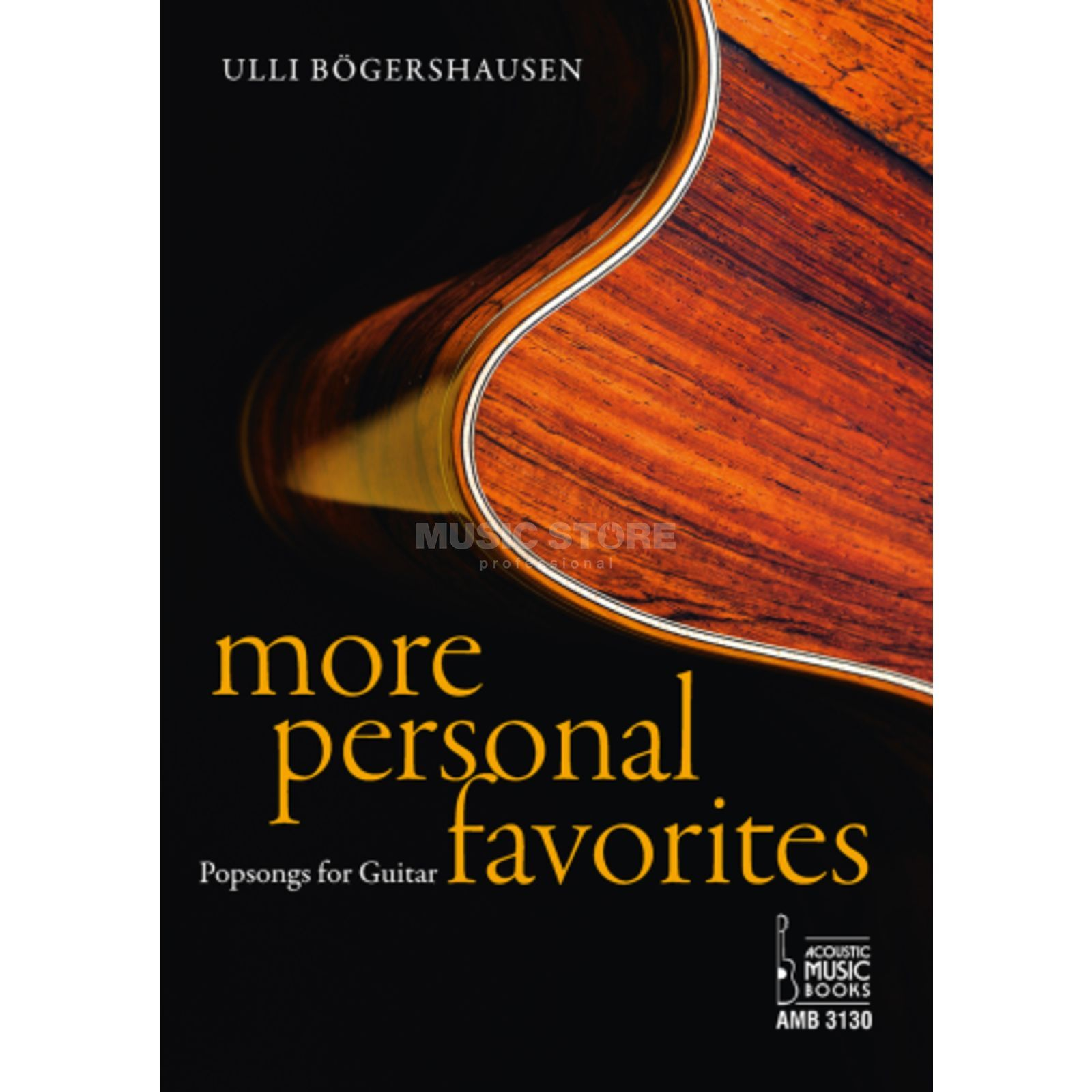 Acoustic Music Books More Personal Favorites Ulli Bögershausen TAB Produktbild