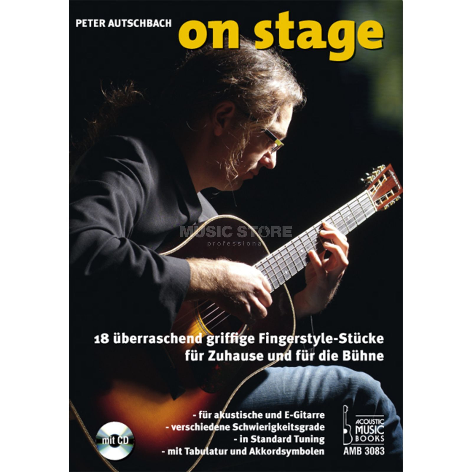 Acoustic Music Books On Stage Peter Autschbach TAB Produktbild