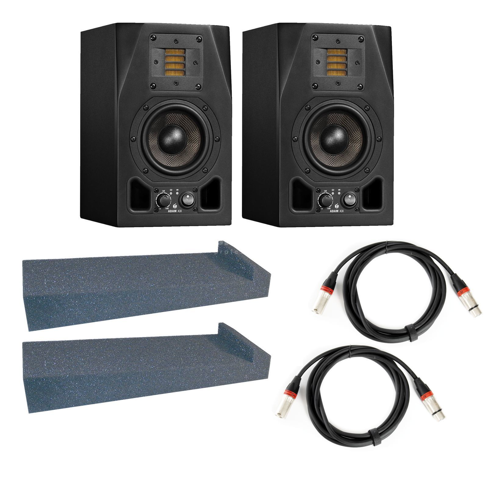 Adam Audio A3X + Speaker Pad - Set Produktbild