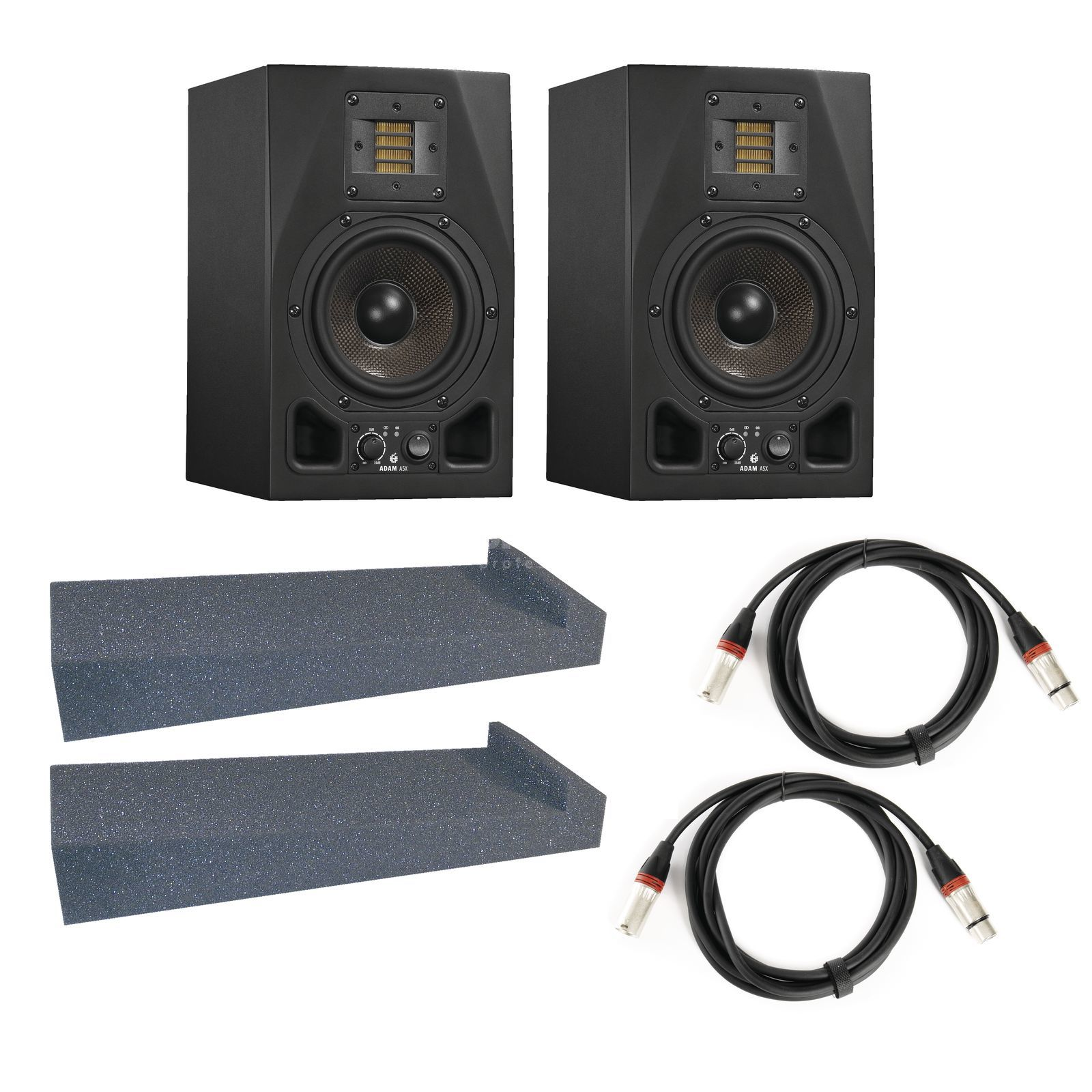 Adam Audio A5X + Speaker Pad - Set Produktbillede