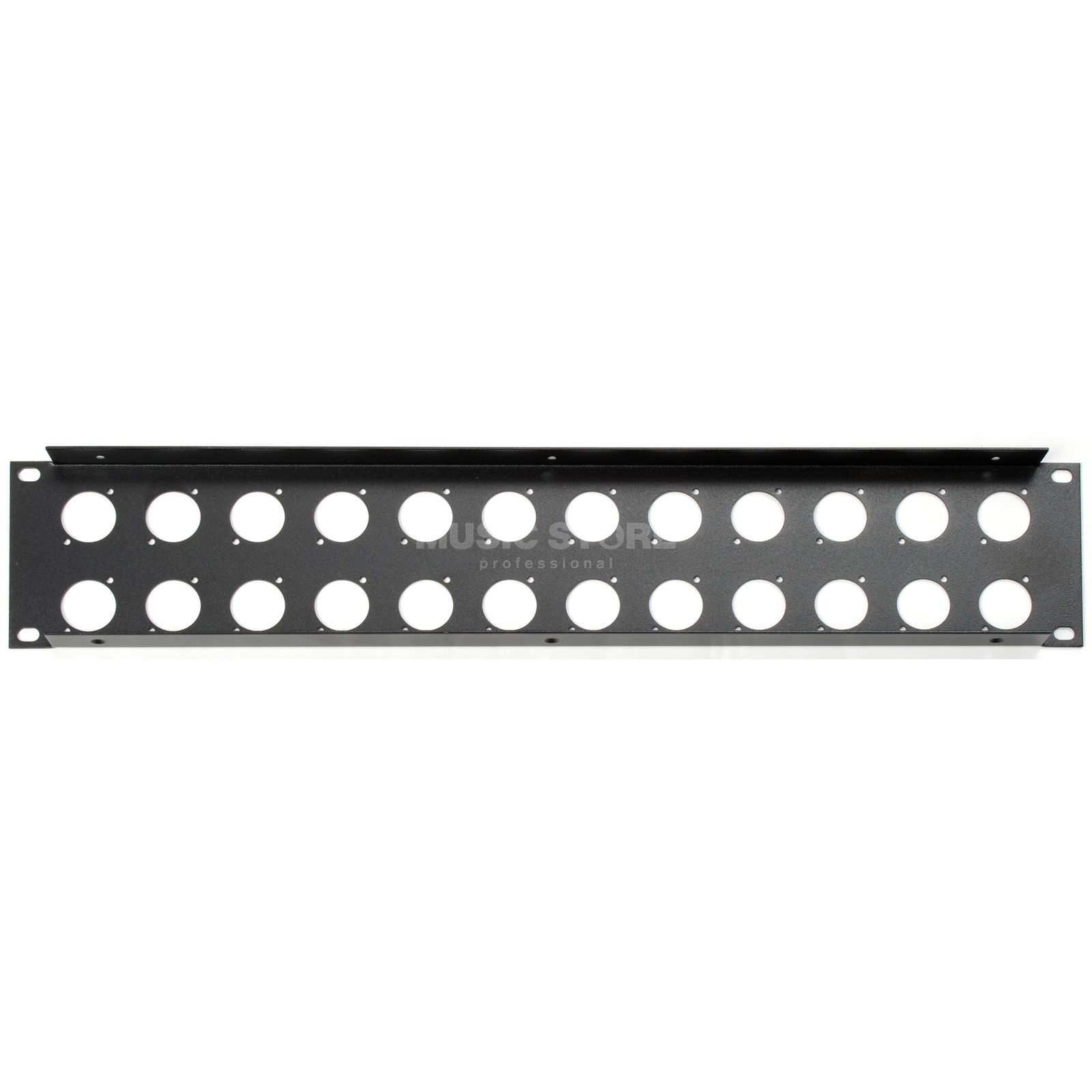 "Adam Hall 19"" Rack panel f. 24xXLR - 2HE Steel Produktbillede"