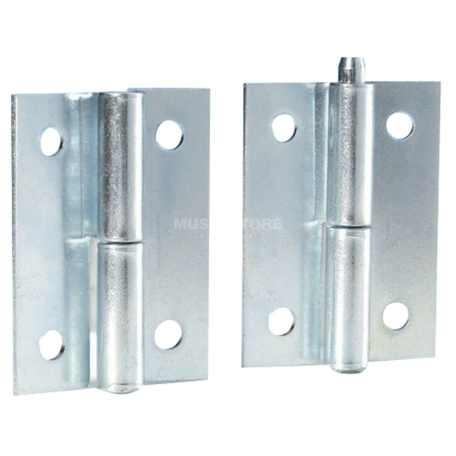 Adam Hall 2270 Lift-Off Hinge with pin galvanized / pair Product Image